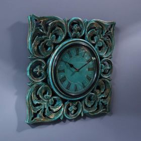 Green Antique Wall Clock