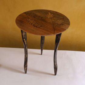 Neisha Wooden Side Table