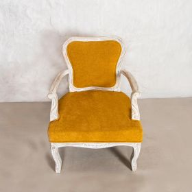 Nayab Mustard Accent Chair