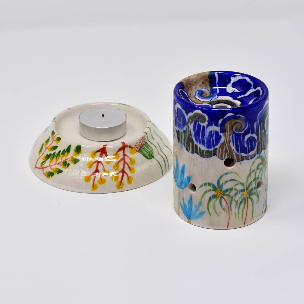 Fanusta Blue Pottery Aroma Diffuser