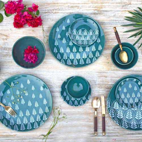 Fanusta Ceramic Dinner Set