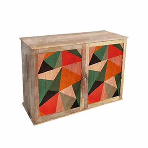 Fanusta Geometric Cabinet