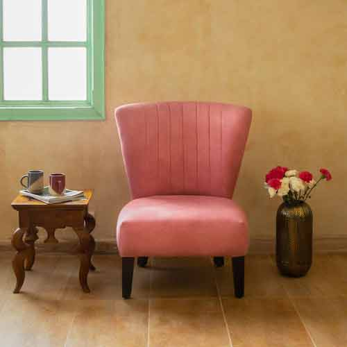 Fanusta Pink Chair